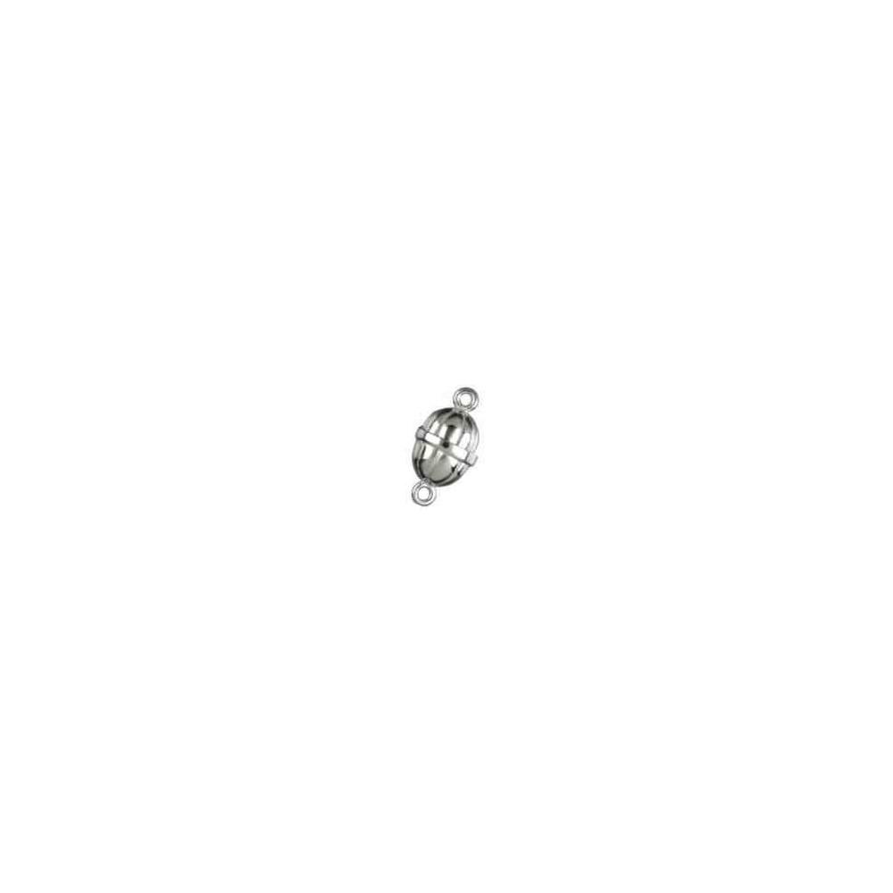 Broches imantados p/ley - Gallonados 18 x 13.5 mm. 74052