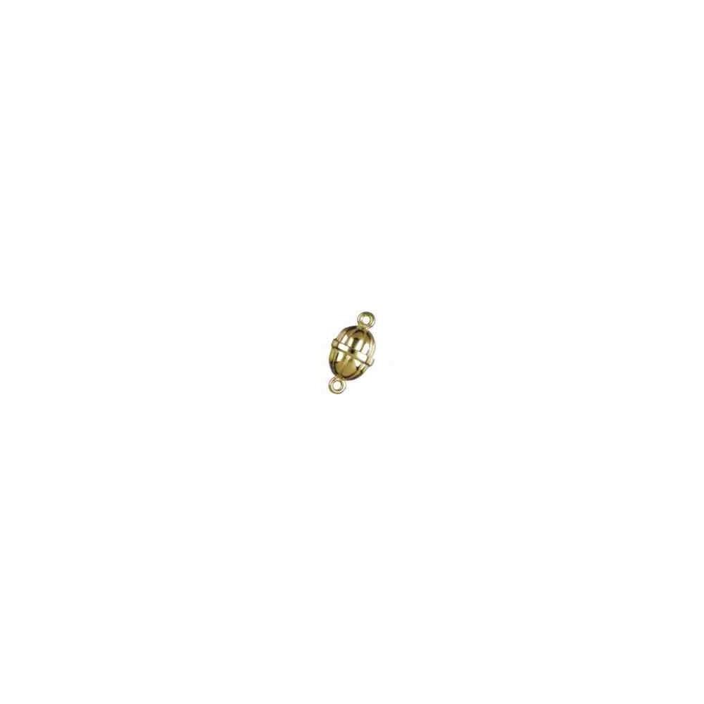 Broches imantados p/chapada - Gallonados 18 x 13.5 mm. 74052CH