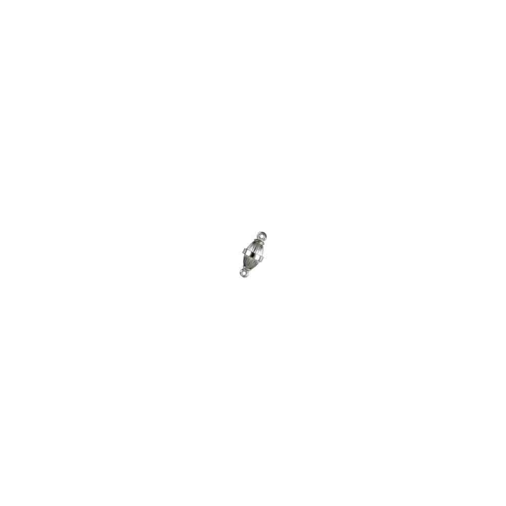 Broches imantados p/ley - Olivina gallonados 11 x 6 mm. 74120