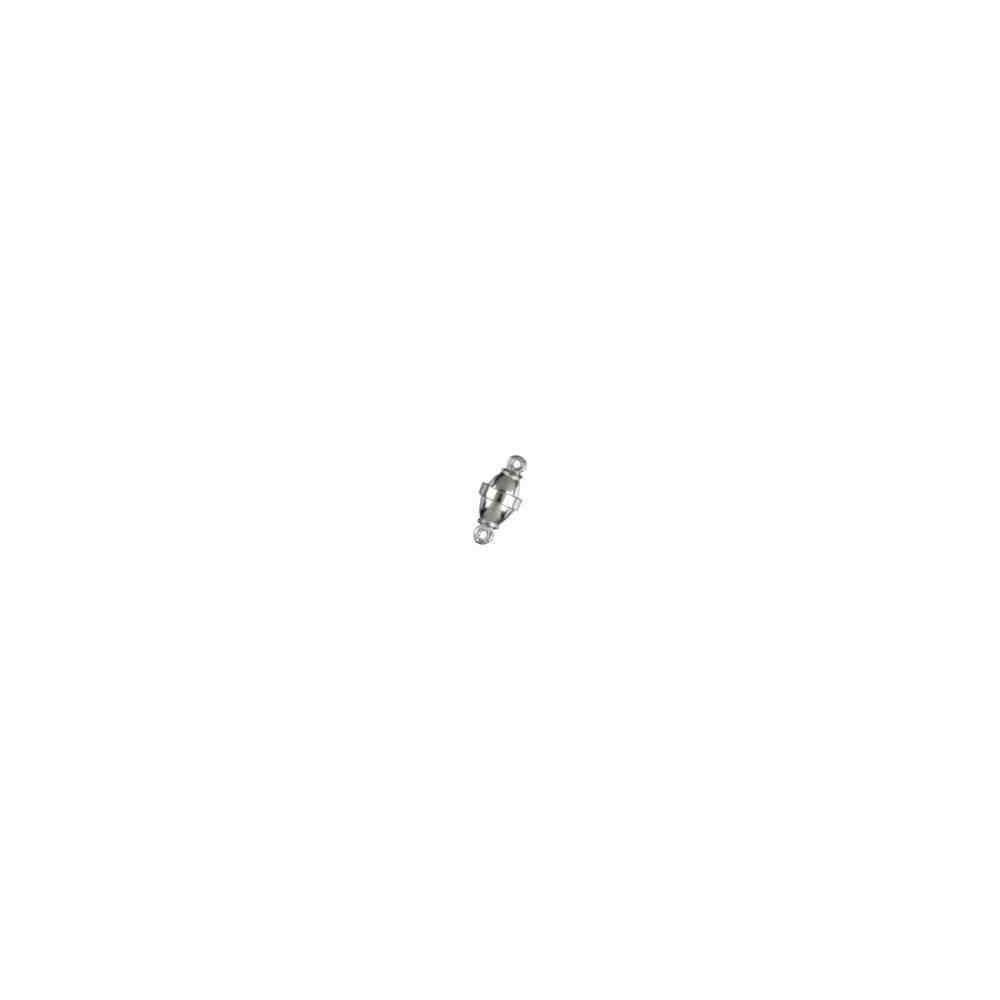 Broches imantados p/ley - Olivina lisos 11 x 6 mm. 74130