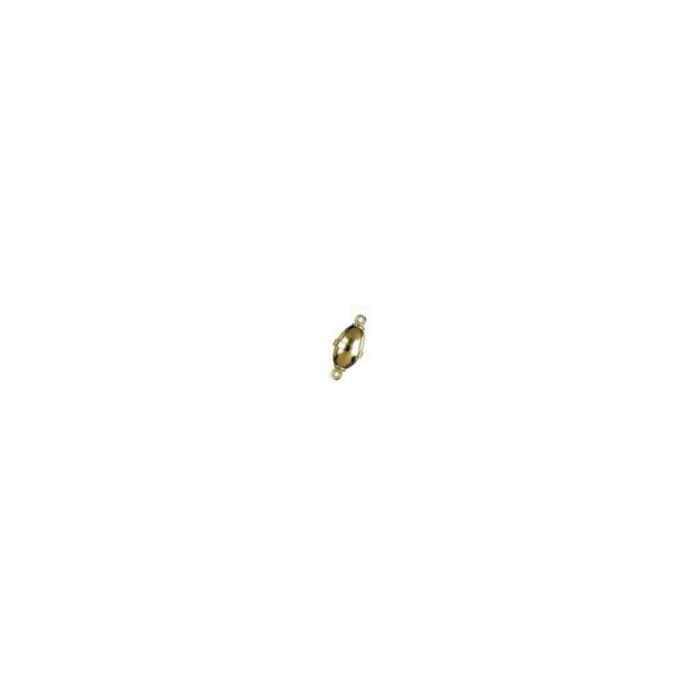 Broches imantados p/chapada - Olivina lisos 14.5 x 8 mm. 74131CH