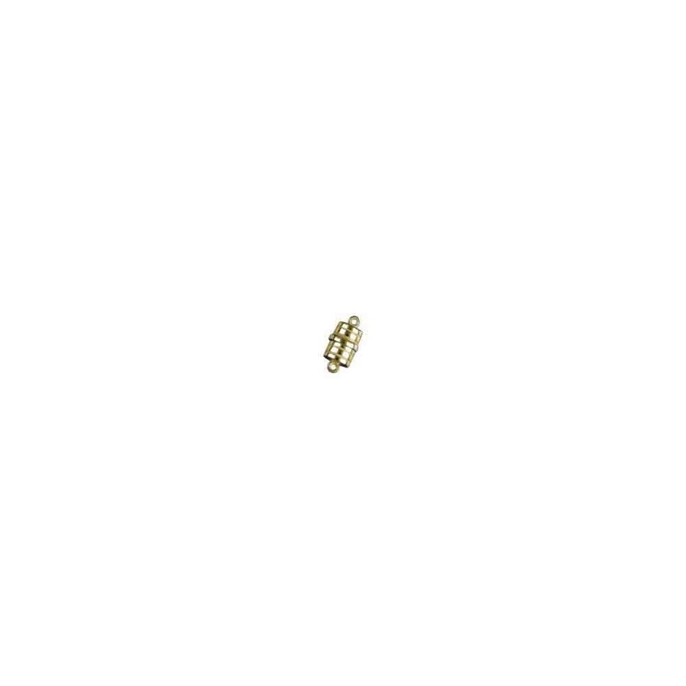 Cierre magnético cilíndrico gallonado.AG-925 CH. 74250CH