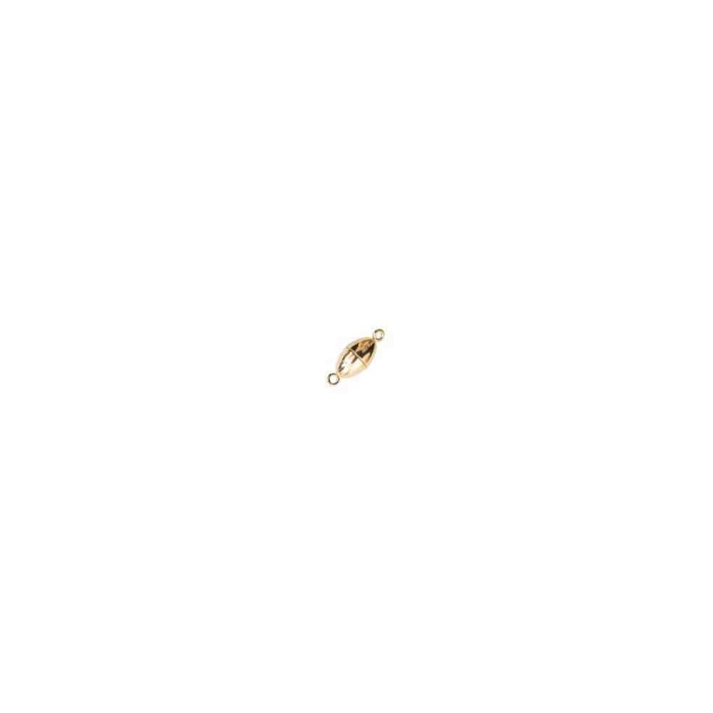 Cierre magnético dorado 10x17mm.AG-925 74257D