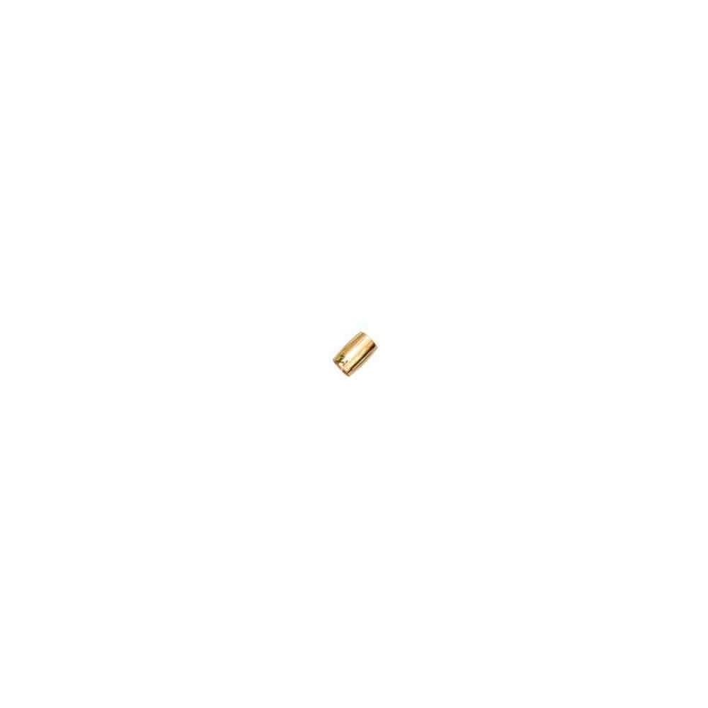 Cierre magnético dorado.Long.13.9x10mm.Int.7.2mm.AG-925 74407D
