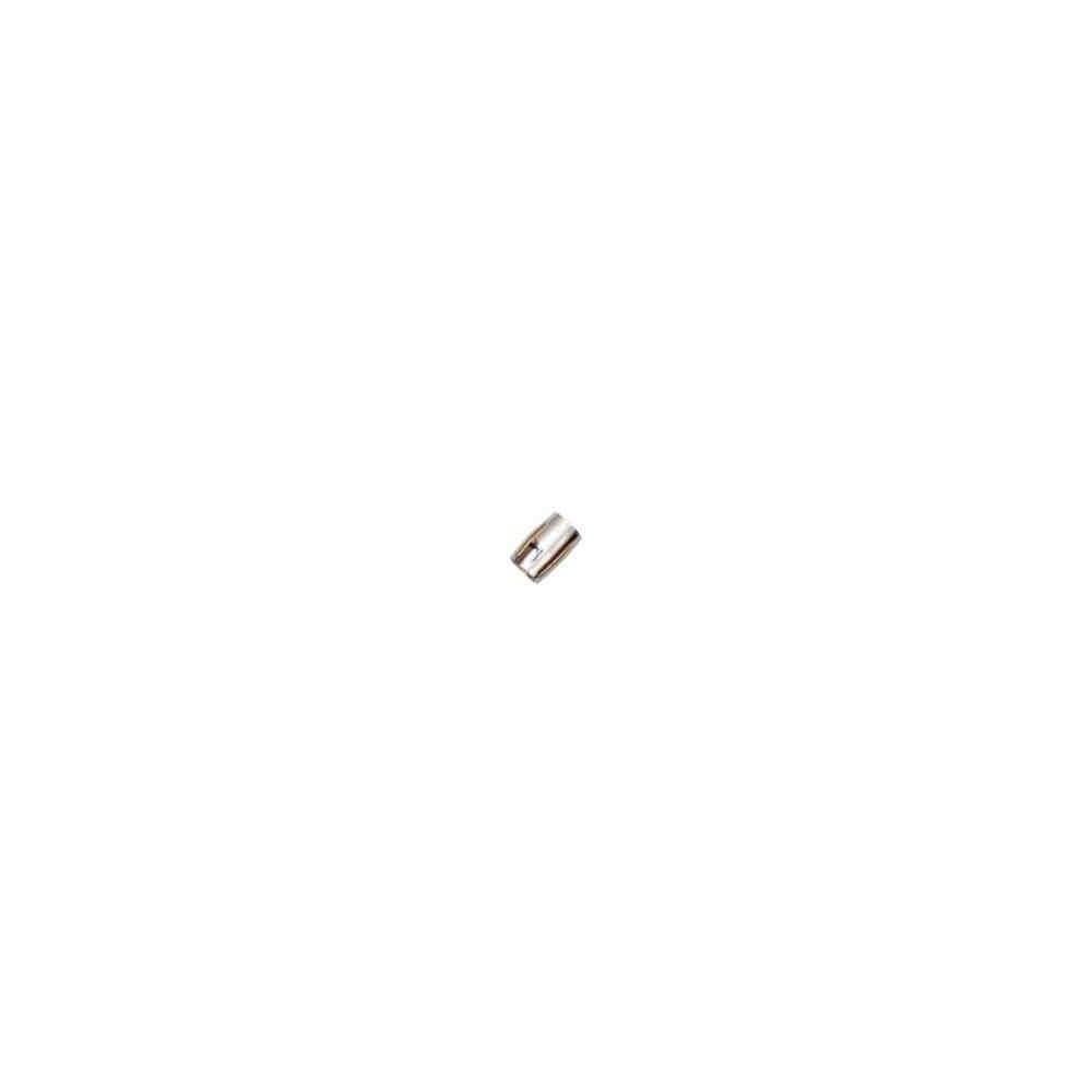 Cierre magnético rodiado.Long.13.9x10mm.Int.7.2mm.AG-925 74407R
