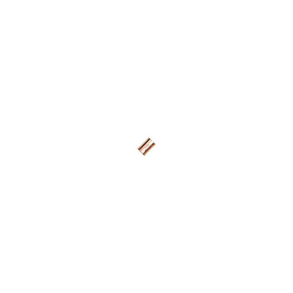 Cierre magnético rosado.Long.13x8mm.Int.5.2mm.AG-925 74425C