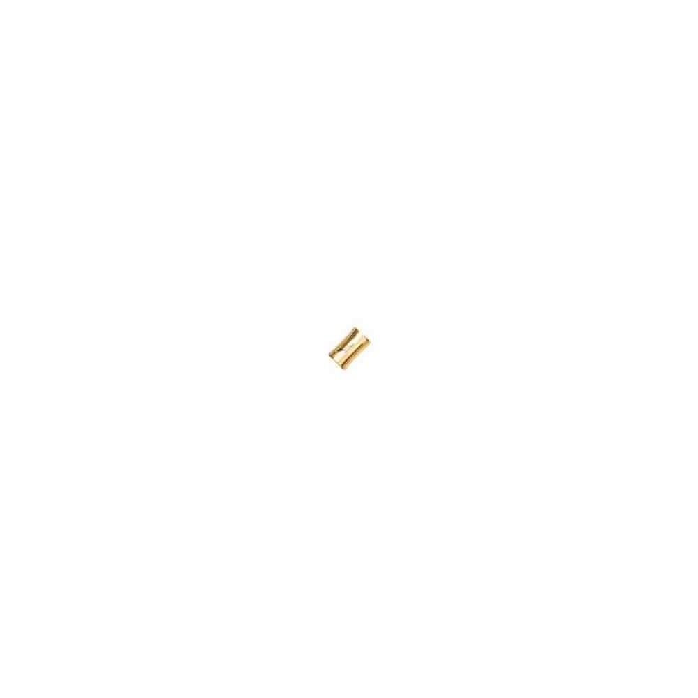 Cierre magnético dorado.Long.13x8mm.Int.5.2mm.AG-925 74425D
