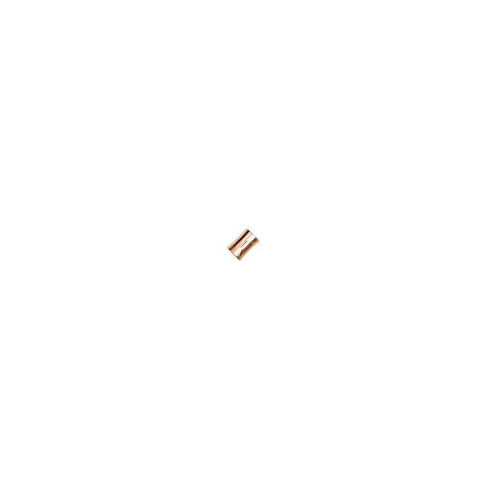 Cierre magnético rosado.Long.13x9mm.Int.6.2mm.AG-925 74426C
