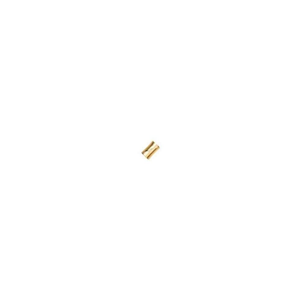 Cierre magnético dorado.Long.13x9mm.Int.6.2mm.AG-925 74426D