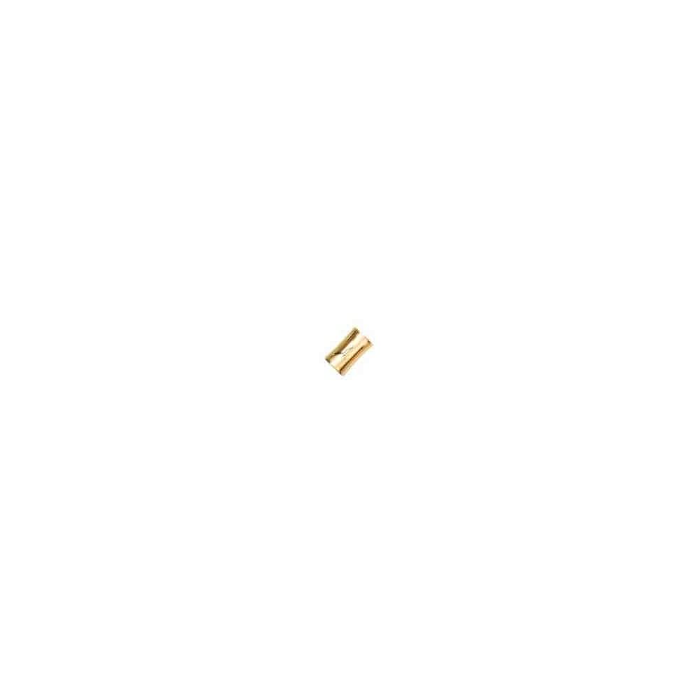 Cierre magnético dorado.Long.15x10.5mm.Int.7.2mm.AG-925 74427D