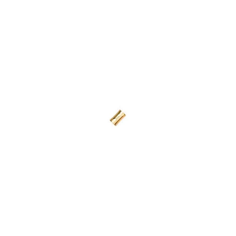 Cierre magnético dorado.Long.15x11.5mm.Int.8.2mm.AG-925 74428D