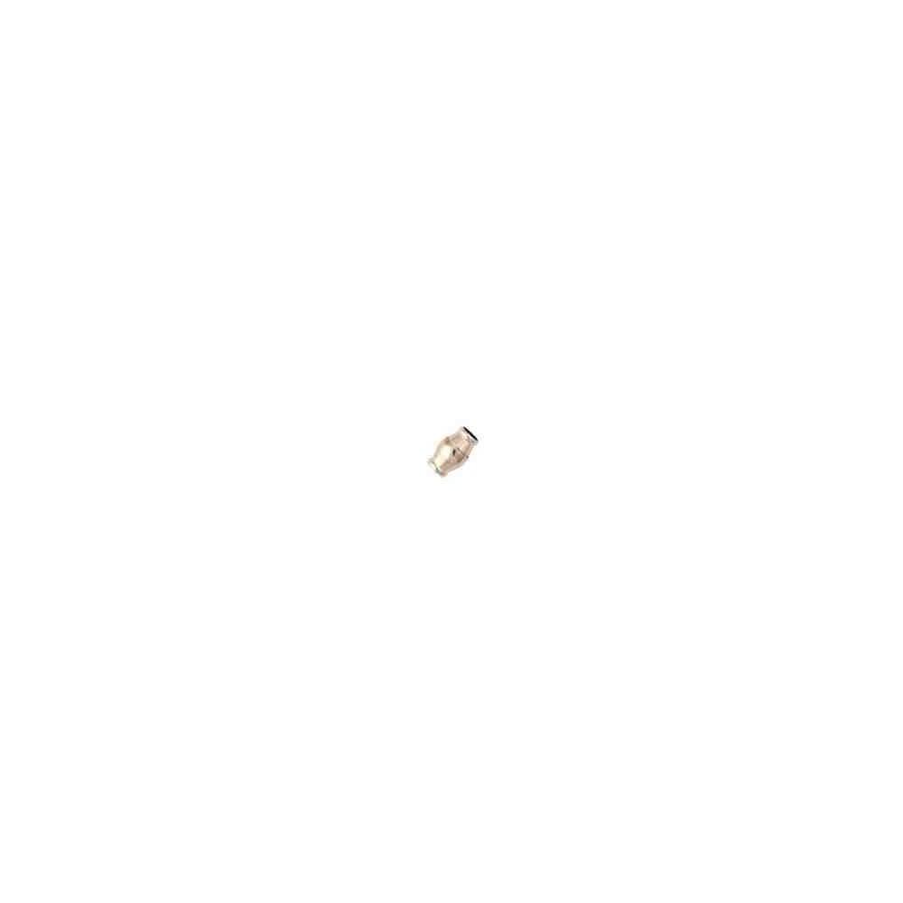 Cierre magnético rodiado.Long.15x8mm.Int.5.2mm.AG-925 74435R