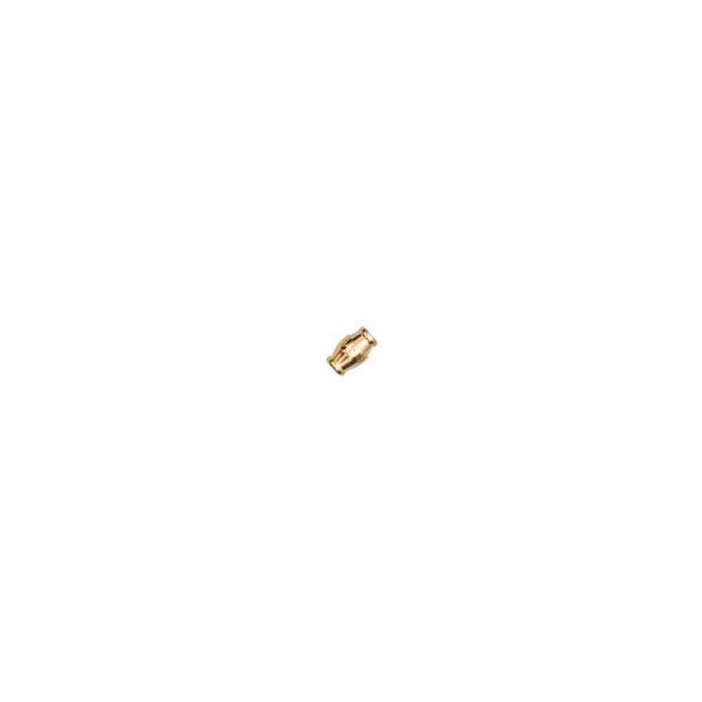 Cierre magnético dorado.Long.15.5x10mm.Int.7.2mm.AG-925 74437D