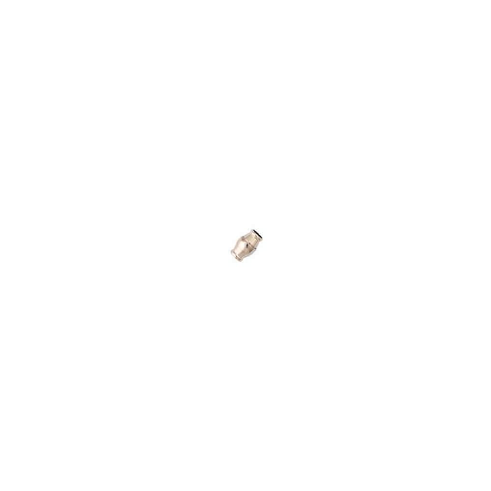 Cierre magnético rodiado.Long.15.5x10mm.Int.7.2mm.AG-925 74437R