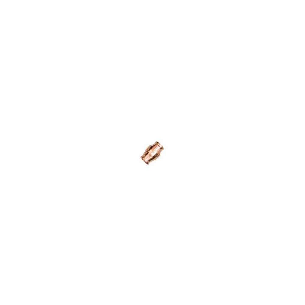 Cierre magnético rosado.Long.16x12mm.Int.8.2mm.AG-925 74438C
