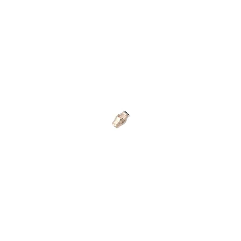 Cierre magnético rodiado.Long.16x12mm.Int.8.2mm.AG-925 74438R