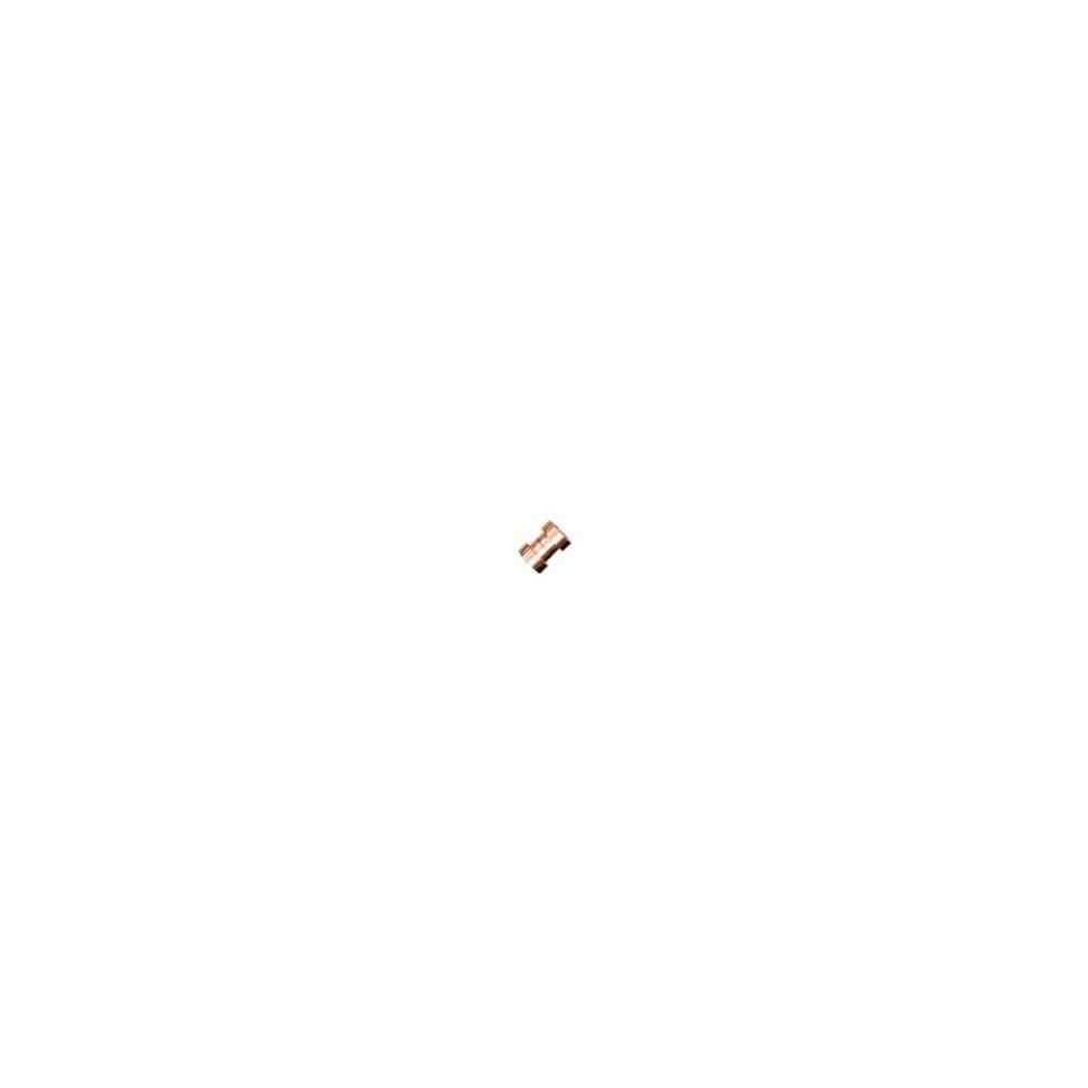 Cierre magnético rosado.Long.11x5.5mm.Int.5.2mm.AG-925 74445C