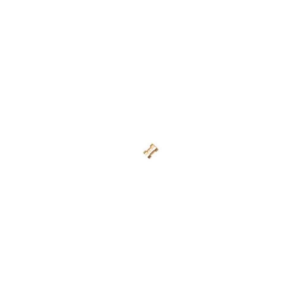Cierre magnético dorado.Long.11x5.5mm.Int.5.2mm.AG-925 74445D