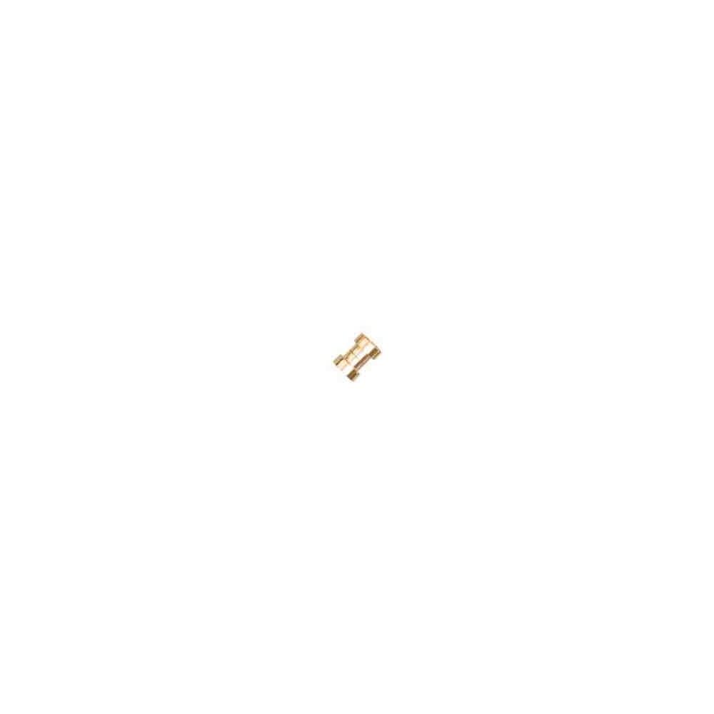 Cierre magnético dorado.Long.13x7.5mm.Int.8.2mm.AG-925 74448D