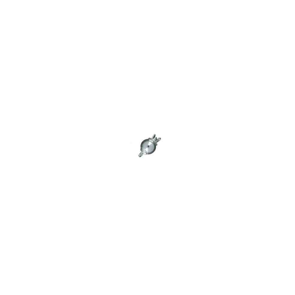 Broche de bola liso 12mm.AG-925 75010
