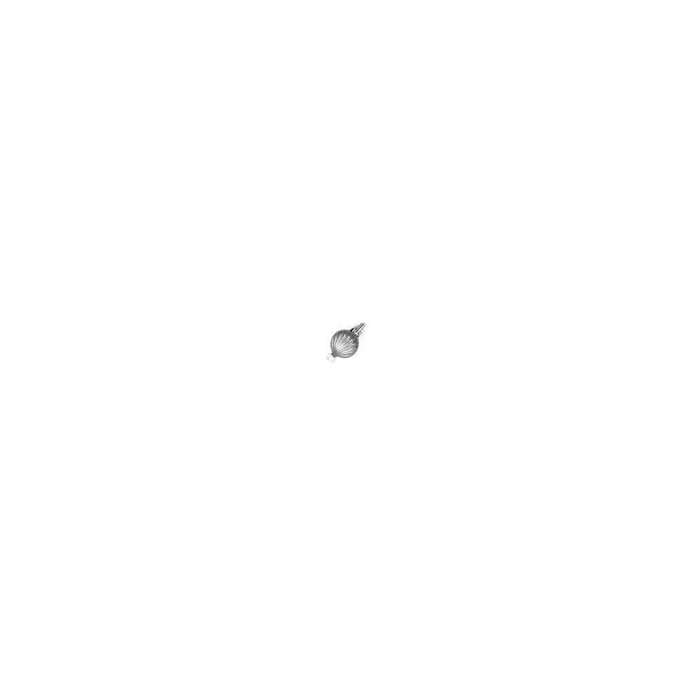 Broche de collar rodiado 1 vuelta.AG-925 75210