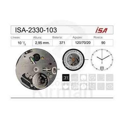 MOVIMIENTO ISA 2330-103
