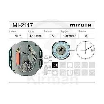 MOVIMIENTO MIYOTA 2117
