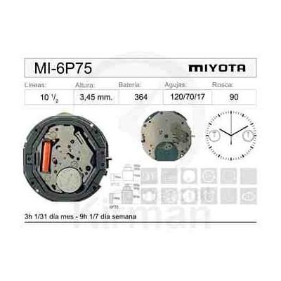 MOVIMIENTO MIYOTA 6P75