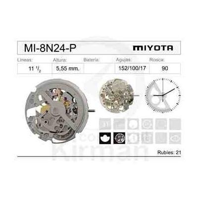MOVIMIENTO MIYOTA 8N24-P