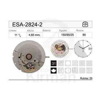 MOVIMIENTO ETA 2824-2 AUTOMÁTICO