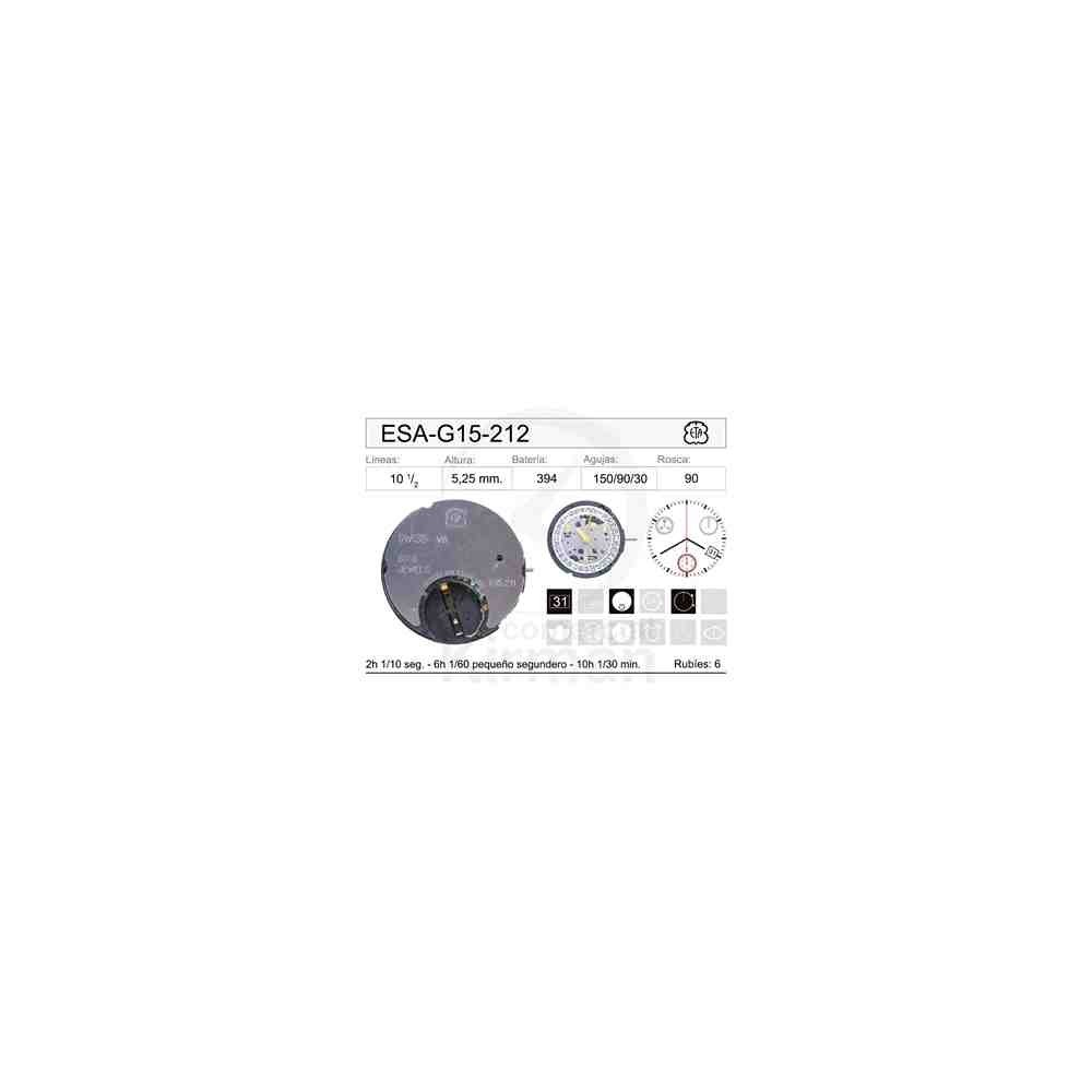 MOVIMIENTO ESA G15-212 CAL. 4H