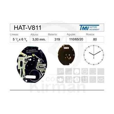 MOVIMIENTO HATTORI V811