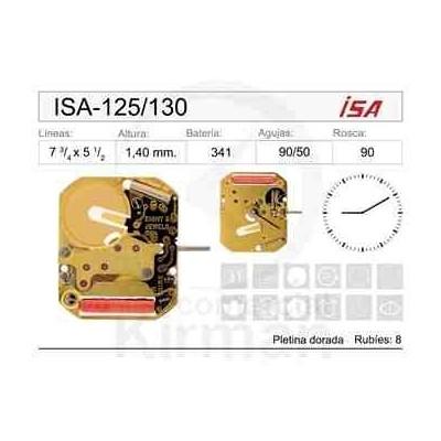 MOVIMIENTO ISA 125/130