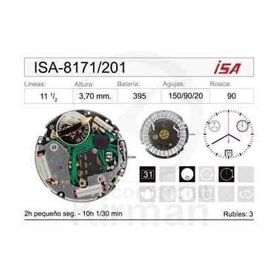 MOVIMIENTO ISA 8171/201 CAL. 6H