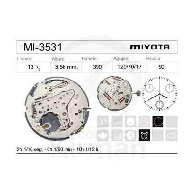 MOVIMIENTO MIYOTA 3531