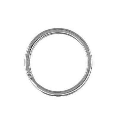 Llavero espiral plano 25.5 mm.AG-925 48569