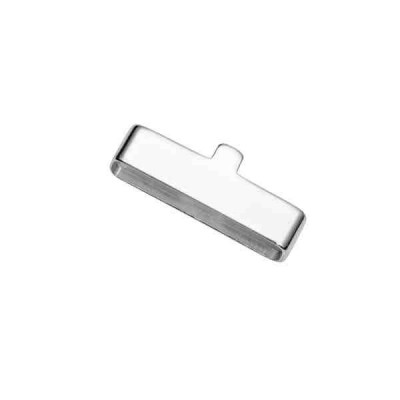 Terminal plano ext.16.1x4mm-int.15.3x2.8mm.AG-925 42846