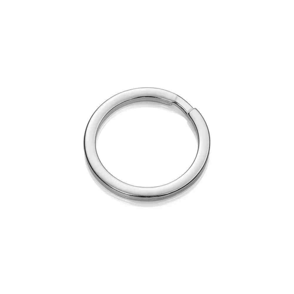 Llavero espiral plano 31.3mm.AG-925 48579
