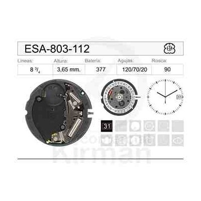 MOVIMIENTO ESA 803-112