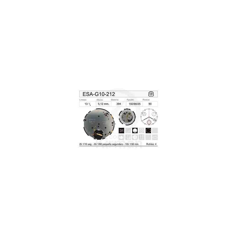 MOVIMIENTO ESA-G10-212 CAL. 4H