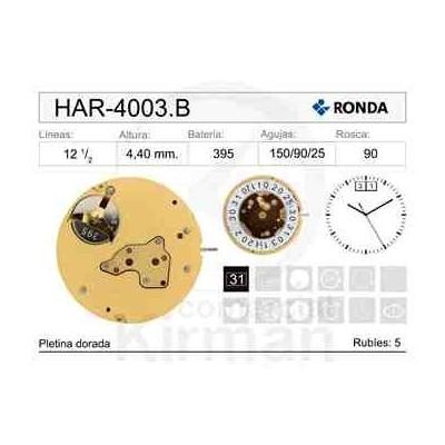MOVIMIENTO HARLEY 4003B CAL.6H