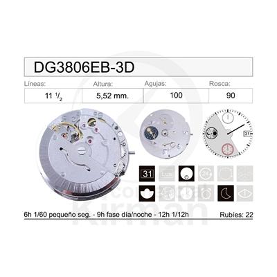 MOVIMIENTO MECÁNICO DG3806EB-3D